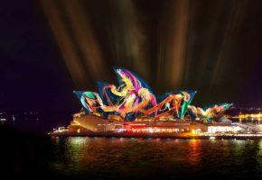 Austral Floral Ballet - Vivid Sydney